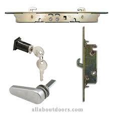 Patio Door Lock Parts Sliding Door Hardware Parts For Glass Patio Doors