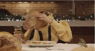 dogs at dinner table gifs of hilarious dogs that capture every person at your holiday