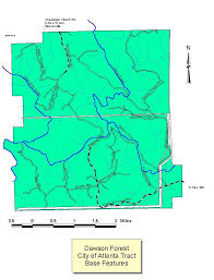 Map Of Georgia Cities Georgia Forestry Commission Forest Management State Forest