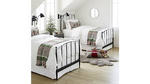 mason king bed crate and barrel