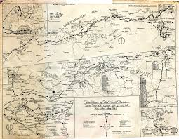 Fort Bragg Map 9th Infantry Division Route Map 9th Infantry Division
