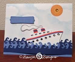 cruise ship s designs cards creations