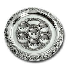 messianic seder plate passover seder items from israel