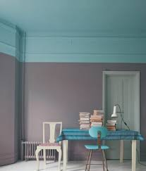 striking colours u2013 turquoise and gray pastel wall paint color