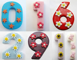 edible numbers edible cake decoration numbers kudoki for