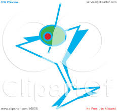 martini olive vector green olive in a martini glass clipart illustration by andy