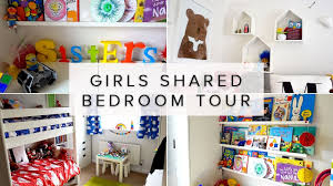 Shared Bedroom Ideas by Kids Shared Bedroom Ideas Room Tour Rainbow Colours Youtube