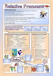 english worksheets relative worksheets page 2