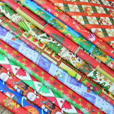 christmas wrapping paper sets 520 750mm christmas gift wrapping paper greaseproof pape gift