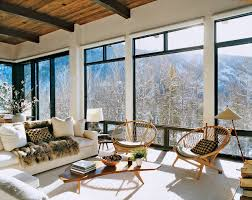 Lodge Interior Design by Aerin Lauder U0027s Aspen Ski Lodge Brooke Testoni