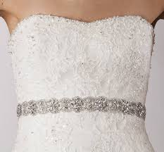 wedding dresses belts beatrix wedding dress belt by sash co notonthehighstreet com