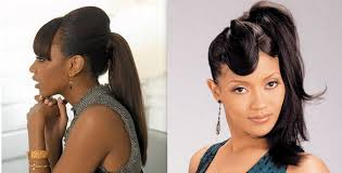 hairstyles blacks for caribbean ponytail hairstyles for black women stylish eve