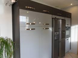 cuisine avec frigo americain cuisine avec frigo noir solutions pour la décoration intérieure