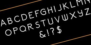 relancer art deco inspired font designhooks