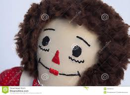 raggedy ann doll face royalty free stock photo image 34356315