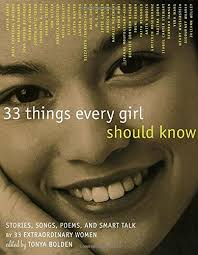 com 33 things every girl should know stories songs