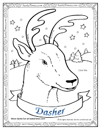 dasher the reindeer