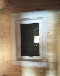 How To Trim Windows Interior Best 25 Interior Window Trim Ideas On Pinterest Window Casing