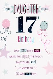 for you on your 17th birthday card cards