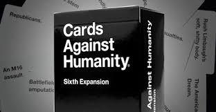 cards against humanity expansion cards against humanity sixth and sickest expansion yet is dirt