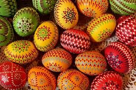 painted easter eggs unique russian and ukranian easter eggs decoration techniques and
