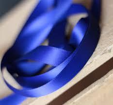 royal blue ribbon faced poly satin ribbon 1 2 inch royal blue the patch