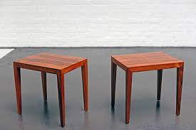 Hansen Patio Furniture danish rosewood side table by severin hansen for haslev