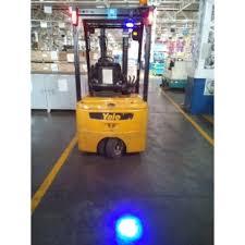 blue warning lights on forklifts high quality 9 110v blue safety work light 6w forklift blue spot
