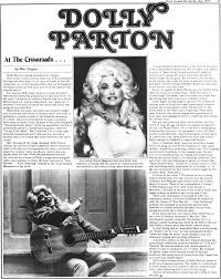 rock around the world dolly parton article