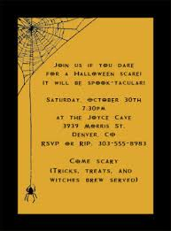 Funny Halloween Poems That Rhyme Halloween Party Invite Wording U2013 Gangcraft Net