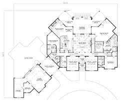 home design house plans with porte cochere floor plan first story