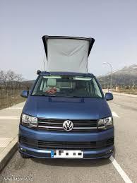 volkswagen california t6 vw t6 california beach acapulco blue 150cv vw california