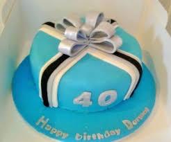 40th birthday cakes for men bake