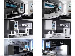 Oak Livingroom Furniture Living Room Furniture Set Modern Tv Cabinet Cupboard Wall Mounted