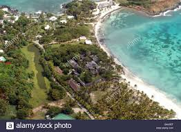 mustique is a small private island in indies on edge