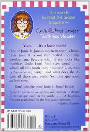 junie b first grader toothless wonder junie b jones no 20