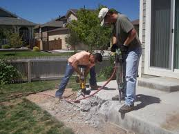 Concrete Ideas For Backyard by Tips For Demolishing Concrete Diy