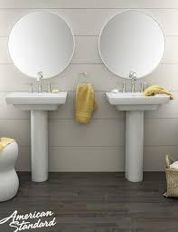 24 inch pedestal sink american standard boulevard 24 pedestal sink our baths