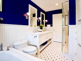 navy blue bathroom ideas round aluminium light lamp ceiling black