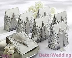 best 25 wedding favour chocolates dhl free shipping 108pcs silver ribbon wedding favor box dates