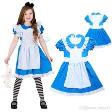 alice in wonderland fancy dress costume girls party dresses girls