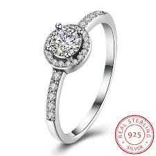 sted jewelry aliexpress buy 100 real solid 925 sterling silver ring