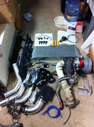 nissan sentra aftermarket parts 02 nissan sentra ser treadstone turbo kit complete