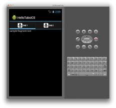 tutorial android menu bar actionbar xamarin microsoft docs