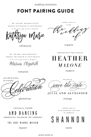 wedding invitations font guide to using fonts on wedding invitations pittsburgh luxury