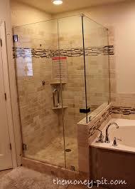 Fix Shower Door Master Bathroom Update The Shower Is Done The Six Fix