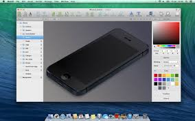 osx os x graphic design app that supports vector graphics