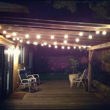 String Lights Patio Ideas by Patio Ideas Backyard String Lights Costco Commercial Backyard
