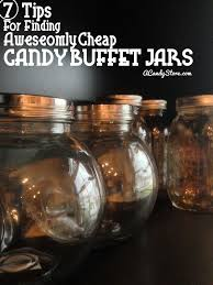 Where To Buy Candy Buffet Jars by 7 Tips To Find Cheap Candy Buffet Jars Candystore Com