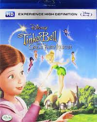 tinker bell fairy rescue animated movie